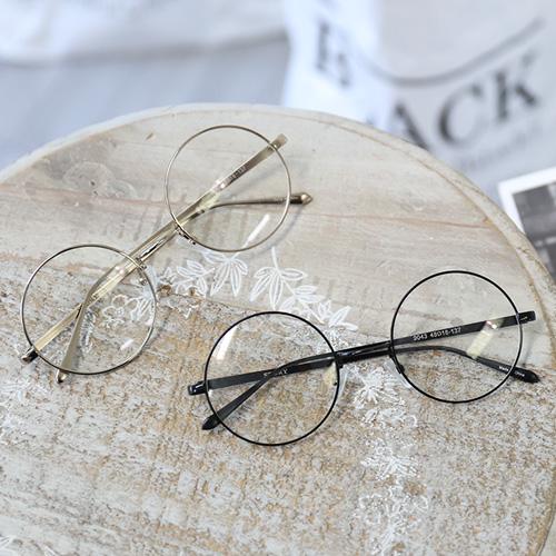 <b>丸いそれほど眼鏡[9043]</b>