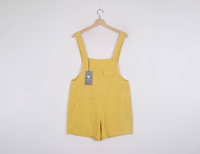 <b>[SAMPLE SALE】ポケットワイドショートジャンプスーツ</b>