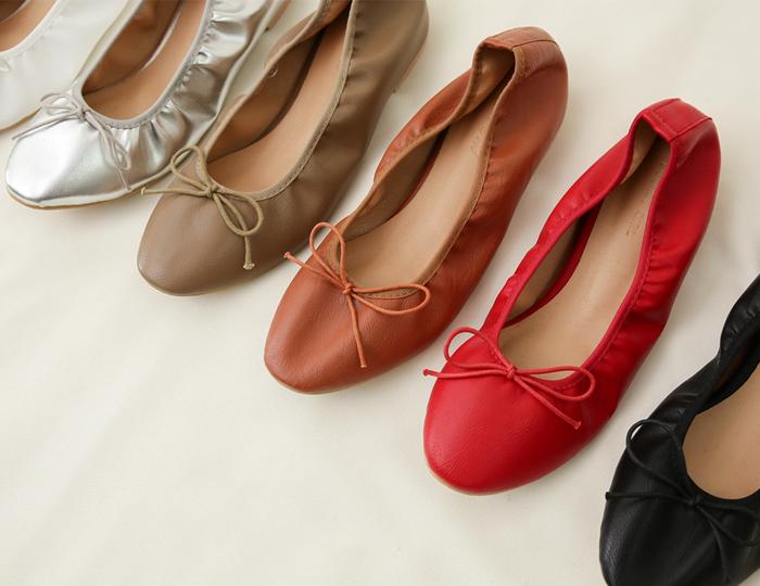<b>ウェンディリボンフラットShoes</b>